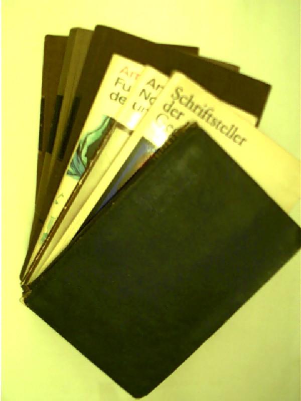 7x Bücher von Arnold Zweig: 1. Der Spiegel des großen Kaisers + 2. Schriftsteller der Gegenwart Arnold Zweig, Leben und Werk + 3. Junge Frau von 1914...,