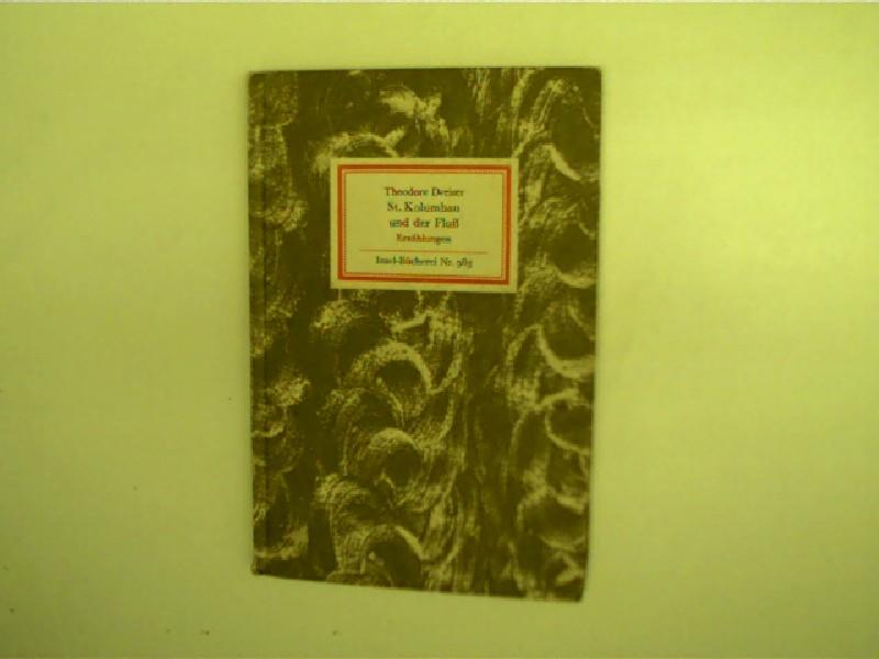St. Kolumban und der Fluß, Erzählungen, 1. Auflage, gutes Exemplar,