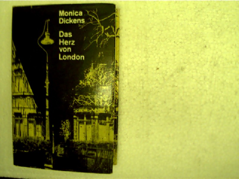 Das Herz von London, Roman, Seite 580 mit kleinem Fleck, ansonsten gutes Exemplar,