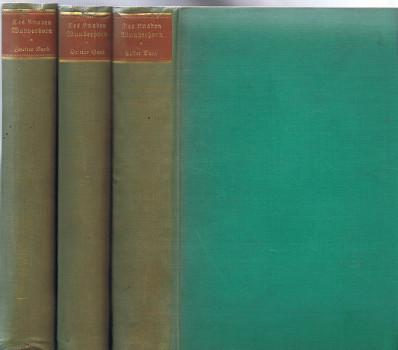 Des Knaben Wunderhorn : Alte deutsche Lieder. Bd. 1-3 [Neudruck der Heidelberger Orginalausgabe]. Hrsg.: Oskar Weitzmann. Aus Anlaß von Clemens Brentanos 150. Geburtstages.
