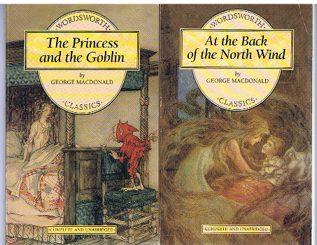 The Princess and the Goblin [and]  At the Back of the North Wind (Wordsworth Children