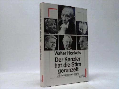Der Kanzler hat die Stirn gerunzelt. 35 Jahre Bonner Szene