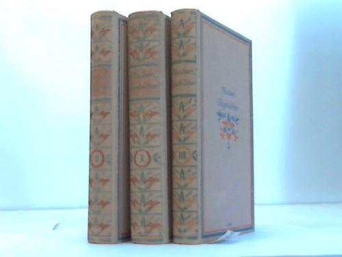 Tagebücher. Gesamtausgabe in drei Bänden