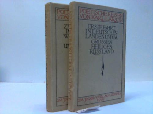 Poetische Reisen. 2 Bände