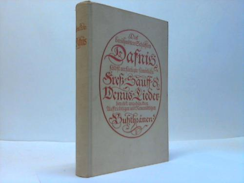 Dafnis. Lyrisches Porträt aus dem 17. Jahrhundert