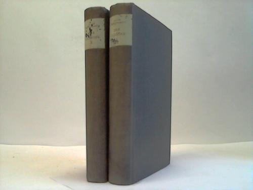 Gesammelte Werke. 2 Bände. Band IX u. X