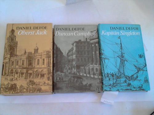 3 verschiedene Bände