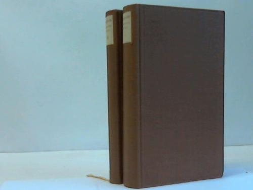 Sämtliche Werke. 2 Bände (Bände I u. III)