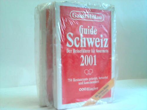 Gaut Millau. Guide Schweiz 1999 und 2001. Reiseführer für Gourmets. 2 Bände
