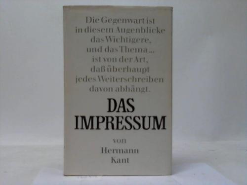 Das Impressum