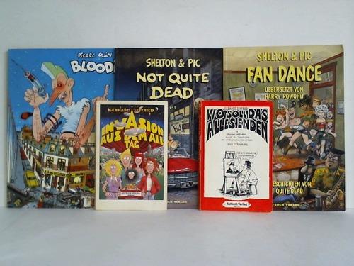 Sammlung von 5 Comic-Bänden
