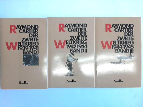 Der zweite Weltkrieg. 3 Bände