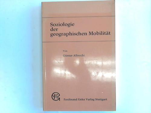 Soziologie der geographischen Mobilität
