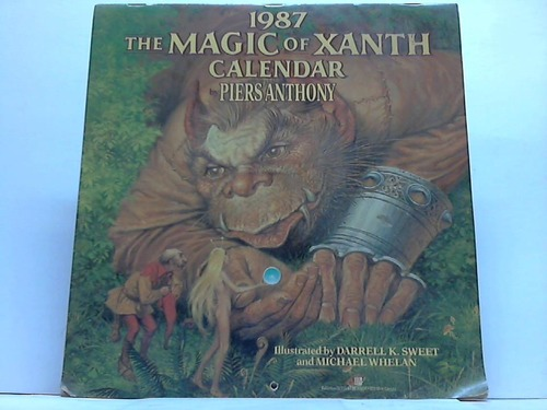 The Magic of Xanth Calendar 1987