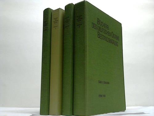Bücherei des Deutschen Ostens. Bestandskatalog. 3 Bände