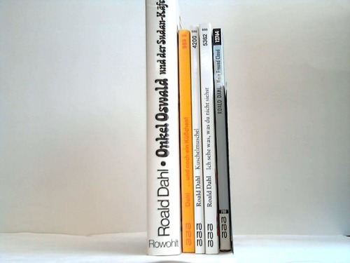 5 verschiedene Bände