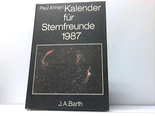 Kalender für Sternfreunde 1987. Kleines astronomisches Jahrbuch