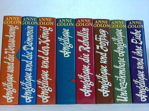 8 verschiedene Bände