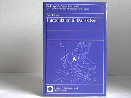Dübeck, Inger Introduktion til dansk ret