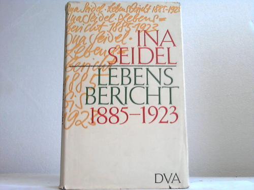 Lebensbericht 1885-1923