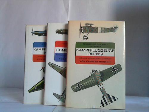Flugzeuge der Welt in Farben. 3 Bände Munson, Kenneth