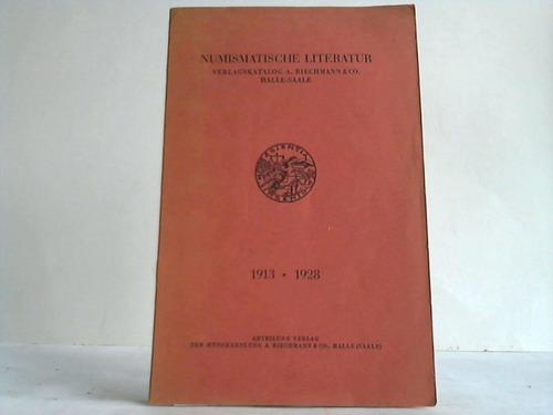 Numismatische Literatur. Verlagskatalog