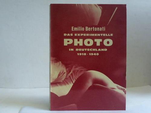 Das experimentelle Photo in Deutschland 1918-1940