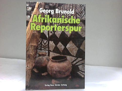 Afrikanische Reporterspur