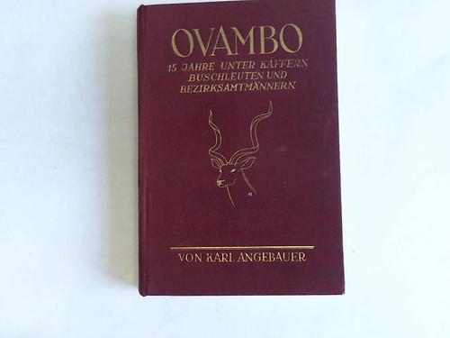 Ovambo. 15 Jahre unter Kaffern, Buschleuten und Bezirksmännern