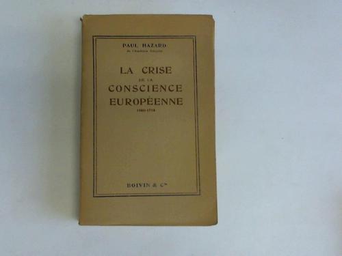 La Crise de la Conscience Europeenne 1680-1715