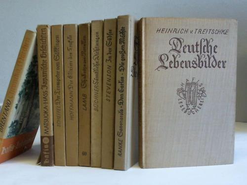 Sammlung von 9 Bänden