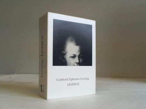 Lesebox. Zu Lessings 275. Geburtstag. 5 Bände im Schuber