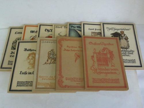 Sammlung von 11 Bänden der Reihe