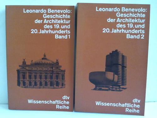 Geschichte der Architektur des 19. Und 20. Jahrhunderts. 2 Bände