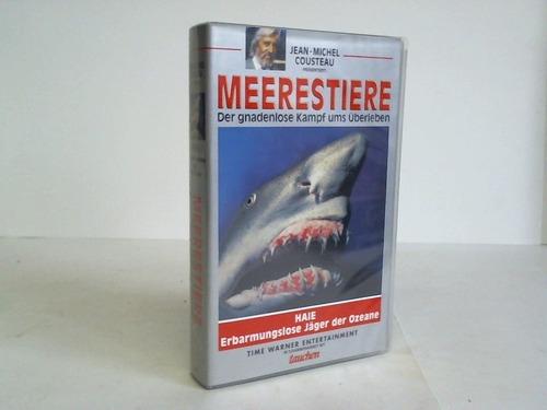 Haie. Erbarmungslose Jäger der Ozeane. VHS-Video-Kassette