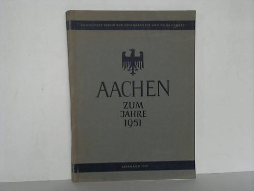 Aachen zum Jahre 1951