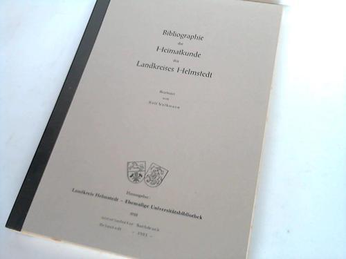 Bibliographie der Heimatkunde des Landkreises Helmstedt