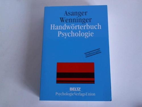 Handwörterbuch Psychologie
