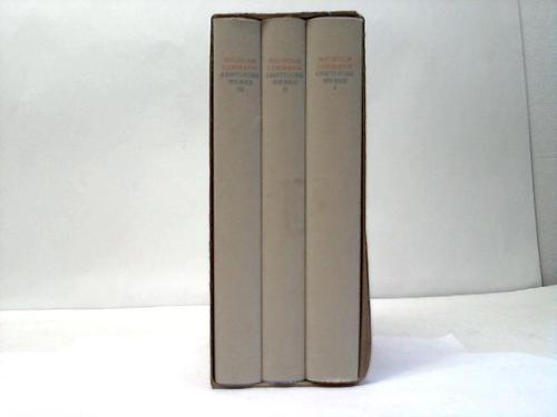 Sämtliche Werke in 3 Bänden