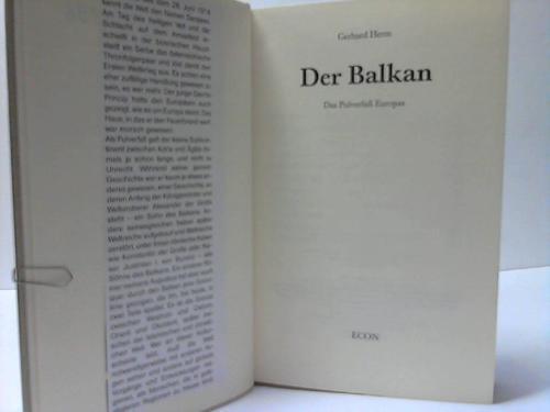Der Balkan. Das Pulverfaß Europas