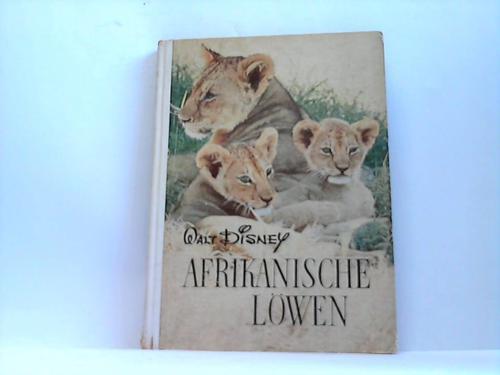Afrikanische Löwen. Entdeckungsreisen im Reiche der Natur