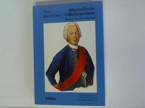 Altpreußische Offizierporträts. Studien aus dem Nachlaß