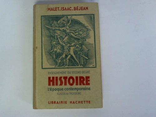 Enseignement du second degre histoire. L