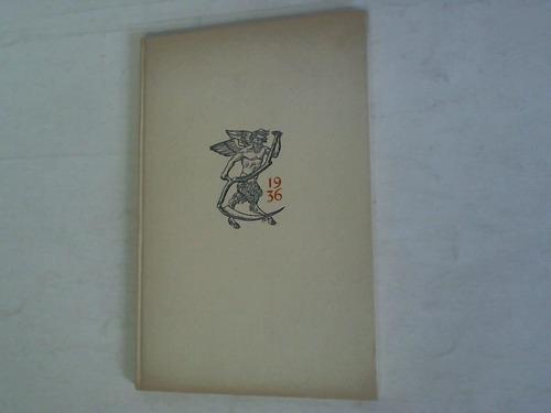 1936. Kleine Chronik der Buchdruckerkunst. Ein Kalender für das Schaltjahr 1936