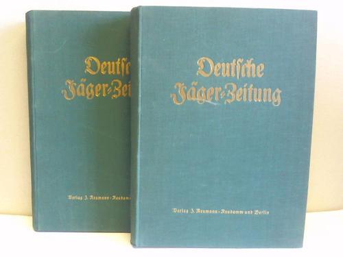 Deutsche Jäger-Zeitung Organ für Jagd, Schießwesen, Fischerei, Zucht und Dressur von Jagdhunden. 86. u. 87. Band, Jahrgang 1926. 2 Halbjahresbände