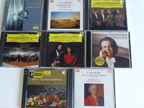 Sammlung von 8 CDs in 7 Hüllen