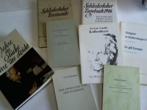 8 Ausgaben über E.G. Koldemheyer