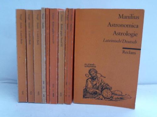 Universal Bibliothek. Römische Literatur. 10 Bände