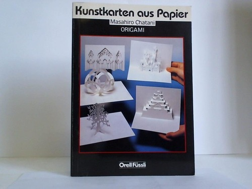 Kunstkarten aus Papier. Origami