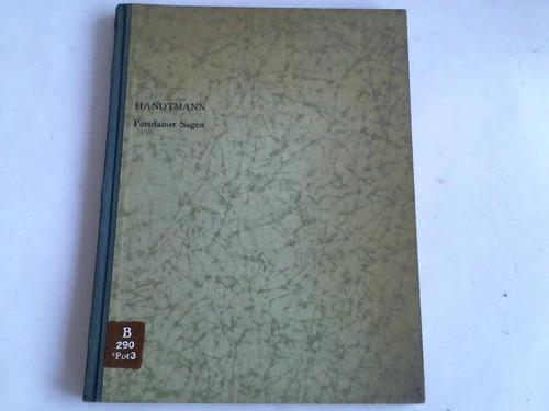 Potsdamer Sagen und Märchen - Handtmann, E.